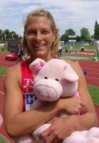 Jenny mit dem Schwein vom Rhein